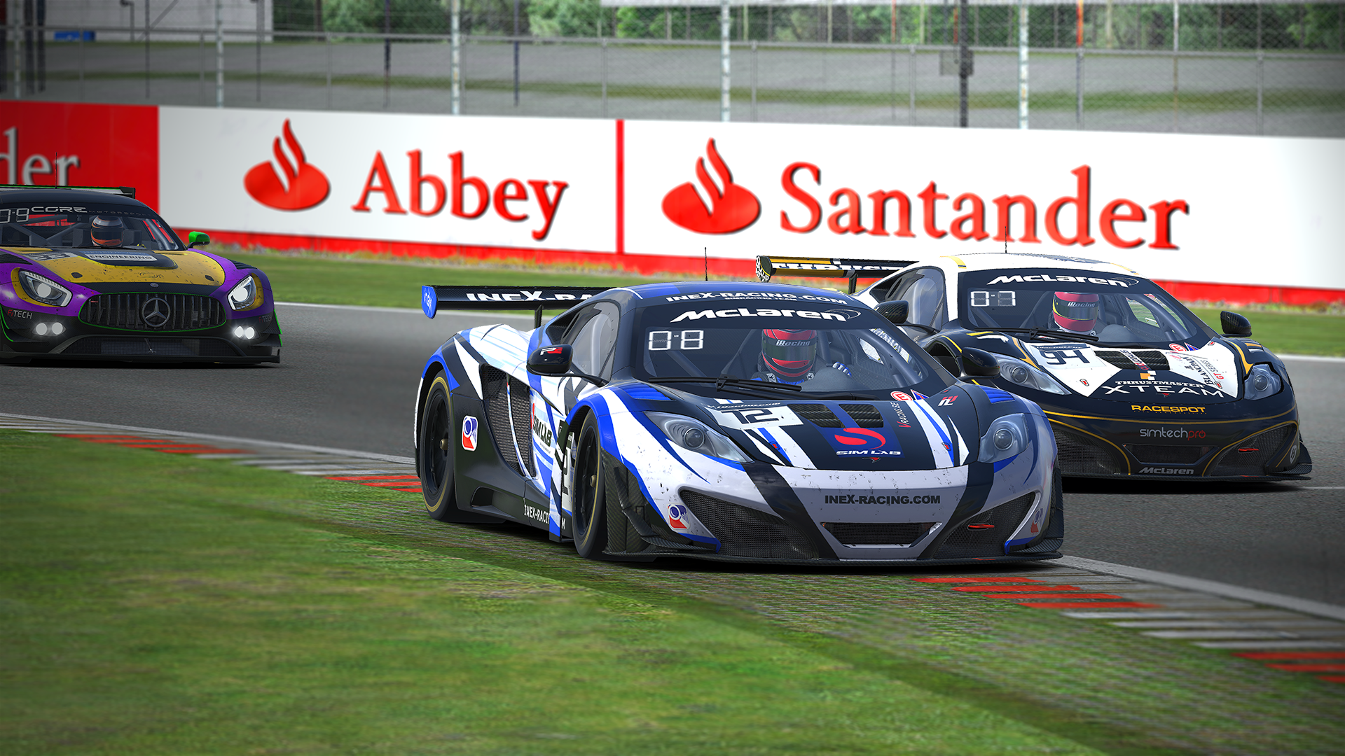 ineX Racing Blue finishes second overall in the 2017 iRacing Blancpain GT Championship